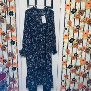 Zara long bohemian dress